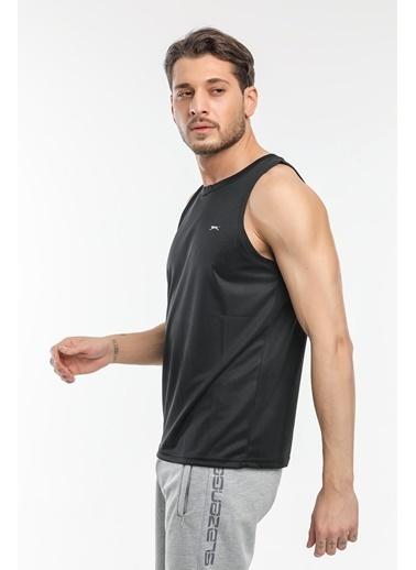 Slazenger Slazenger RUN I Erkek T-Shirt  Siyah